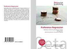 Bookcover of Preference Regression