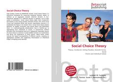 Bookcover of Social Choice Theory