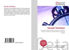 Bookcover of Secular Variation