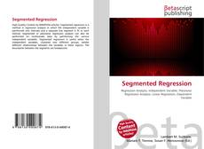 Bookcover of Segmented Regression