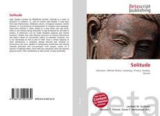 Bookcover of Solitude