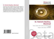 Portada del libro de St. Patrick's Basilica, Montreal