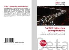 Bookcover of Traffic Engineering (transportation)