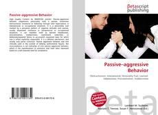 Bookcover of Passive–aggressive Behavior