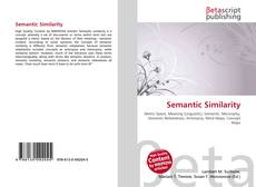 Обложка Semantic Similarity