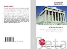 Bookcover of Roman Greece