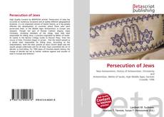 Bookcover of Persecution of Jews