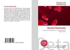 Bookcover of Nicolas Rashevsky