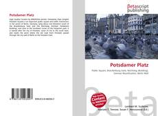 Buchcover von Potsdamer Platz