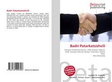 Bookcover of Badri Patarkatsishvili