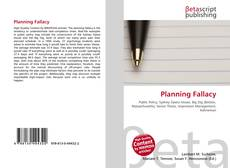 Bookcover of Planning Fallacy