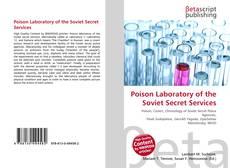 Poison Laboratory of the Soviet Secret Services的封面