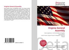 Bookcover of Virginia General Assembly