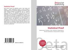 Bookcover of Statistical Proof