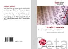 Обложка Nominal Number