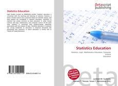 Portada del libro de Statistics Education