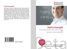 Bookcover of Stein's Example