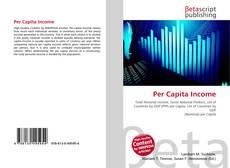 Per Capita Income kitap kapağı