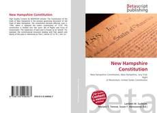 Buchcover von New Hampshire Constitution