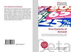 Bookcover of Price Elasticity of Demand