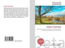 Borítókép a  Urban Forestry - hoz