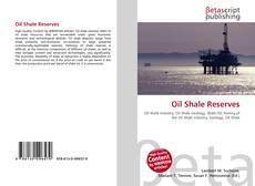 Copertina di Oil Shale Reserves