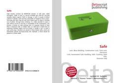 Bookcover of Safe