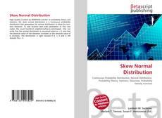 Обложка Skew Normal Distribution