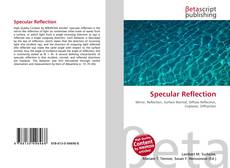 Bookcover of Specular Reflection