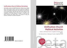 Portada del libro de Unification Church Political Activities