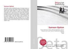 Bookcover of Samson Option