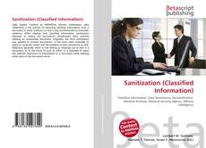 Copertina di Sanitization (Classified Information)