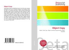 Bookcover of Object Copy