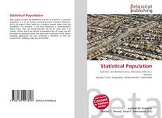 Statistical Population的封面