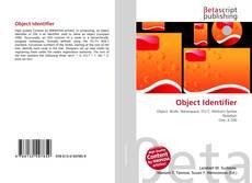 Bookcover of Object Identifier