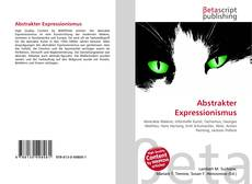 Bookcover of Abstrakter Expressionismus