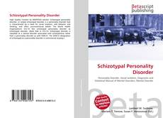 Schizotypal Personality Disorder kitap kapağı
