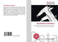 Bookcover of Qualitative Variation