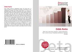 Bookcover of Odds Ratio