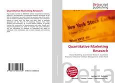 Bookcover of Quantitative Marketing Research