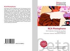 Borítókép a  RCA Photophone - hoz