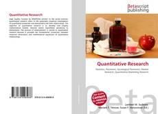Bookcover of Quantitative Research
