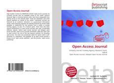 Copertina di Open Access Journal