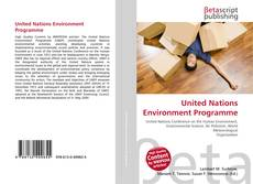 Обложка United Nations Environment Programme
