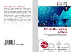 Couverture de Optimal Discriminant Analysis