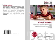 Bookcover of Thomas Malthus
