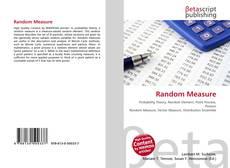 Bookcover of Random Measure