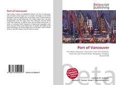 Bookcover of Port of Vancouver