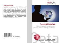 Bookcover of Transnationalism
