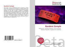 Couverture de Random Sample